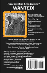 Javelina Place Back Cover